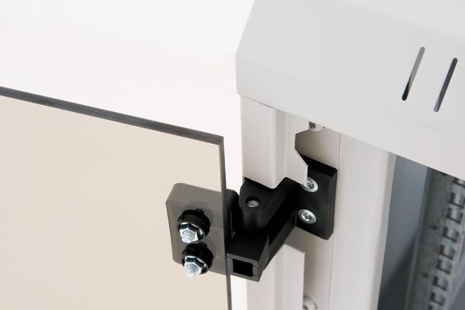 Nástěnný rozvaděč Triton RUA, flexibilní otevírání dveří
