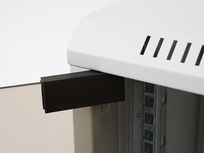 Nástěnný rozvaděč rozebiratelný Triton RXA, flexibilní otevírání dveří